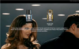 Free Hugo XYXX Fragrance Samples