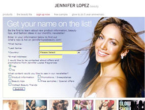 Free Sample of Jennifer Lopez Perfume
