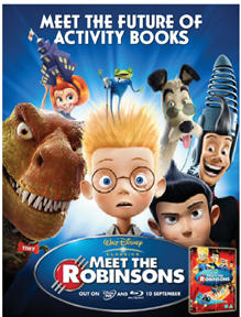 Meet The Robinsons Activity Book