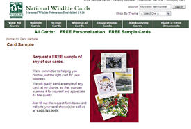 Free National Wildlife Christmas Cards