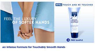 Free Nivea Smooth Indulgence Hand Cream From Walmart Samples