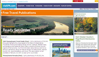 Free Pennsylvania Travel Guide and Magazine