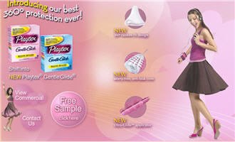 Free Playtex Gentle Glide