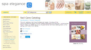 Free Nail Care Catalog ETC