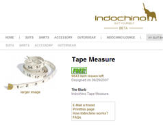Free Indochino Tape Measure