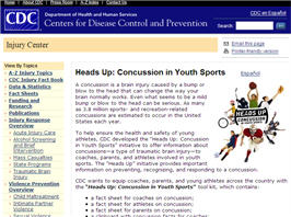 Free Heads Up Concussion in Youth Sports Tool Kit