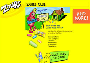 Free Zours Candy Samples