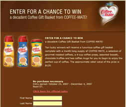 Free Coupon for Coffee-Mate