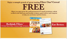 Free Sample of Fiber One Cereal