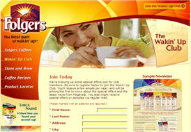 Free Folgers Special offers and Samples