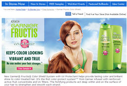 Free Garnier Fructis Color Shield Walmart Sample