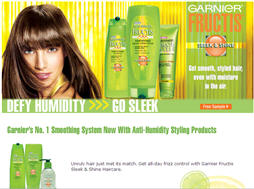 Free Garnier Fructis Sleek n Shine from Walmart Sample