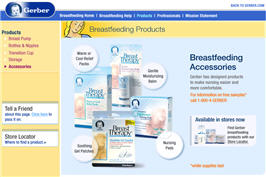 Free Gerber Breastfeeding Accessories