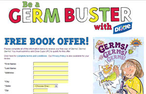Free Copy of Germs!, Germs!, Germs! Scholastic Book