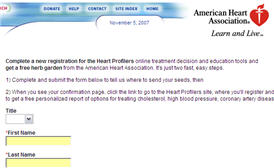 Free Herb Garden from the American Heart Association
