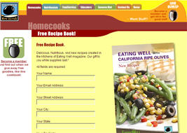 Free Eating Well with California Ripe Olives Recipe Book