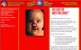 Free Ringling Bros. and Barnum & Bailey Circus Tickets