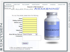 Free Sample Of Awakening Energy Formula