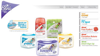 Free Blink Cleaning Product Sample