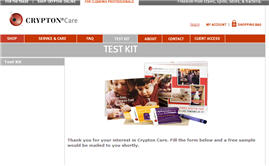 Free Upholstery Stain Remover Sample Kit