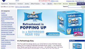 Free Sample Of Cottonelle Flushable Wipes
