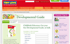 Free Tiny Love Developmental Guide