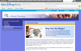 Free Customized Maps From Disney Parks