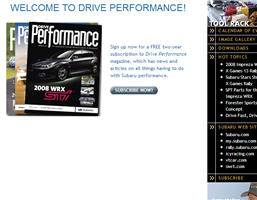 Free 2 Year Subscription to Drive Performance Magazine