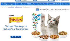 Free Sample of Friskies® Dry Cat Food