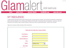 Free My Insolence Fragrance Sample First 1000