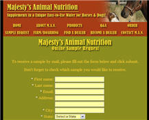 Free Horse Or Dog Wafer From Majesty's Animal Nutrition
