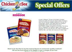 Free Ahi Tuna and Salmon Steaks from Chicken of the Sea