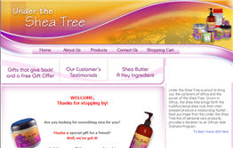 Free Under the Shea Tree Body Lotion Sample