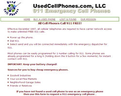 Free 911 Emergency Cell Phone