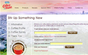 Free Coffeemate Coupon