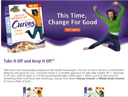 Free Curves Cereal Walmart Sample