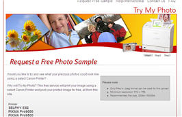 Free Photo Print From Canon