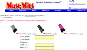 Free Mutt Mitts Samples