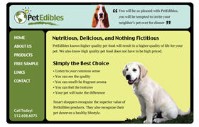 Free Petedibles4life Pet Food Sample