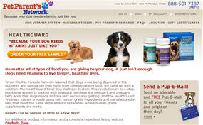 Free Sample of HealthGUARD Dog Vitamin