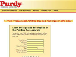 Free DVD Learn The Tips And Techniques Of Painting Professionals