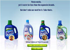 Free Purex Ultra Concentrate Sample