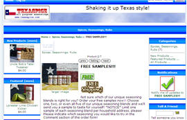 Free Texas Spice Sample