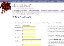 Free Sample Of TheraCran