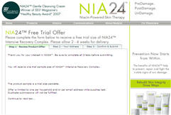 Free Sample of NIA24 Intensive Recovery Skin Cream