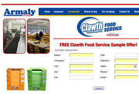 Free Armalay Clawth Sample for Businesses