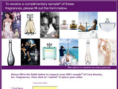 Free Sample of Coty Beauty Inc. Fragrances