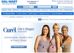 Free Curél Life's Stages Moisturizers Walmart Sample