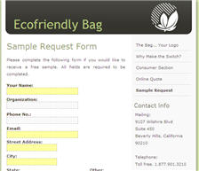 Free Ecofriendly Bag