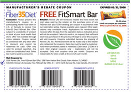 Free FitSmart Bar Coupon